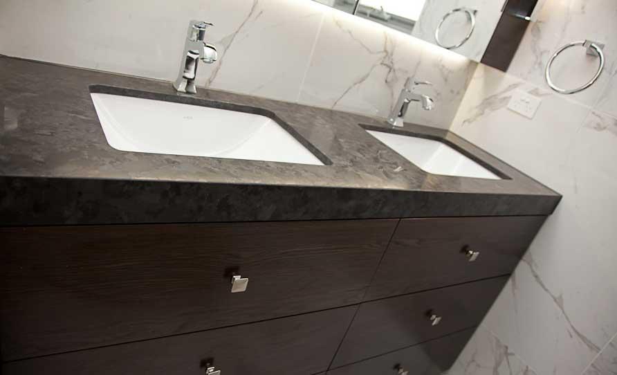 Laminate Bathroom Benchtop